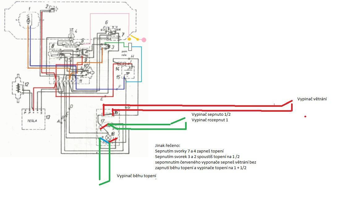 Схема дизельной печки в гараж
